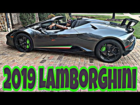 2019 Lamborghini Huracan Performante Spider Review!!!!  Dog Goes For Ride!!! **Must See**
