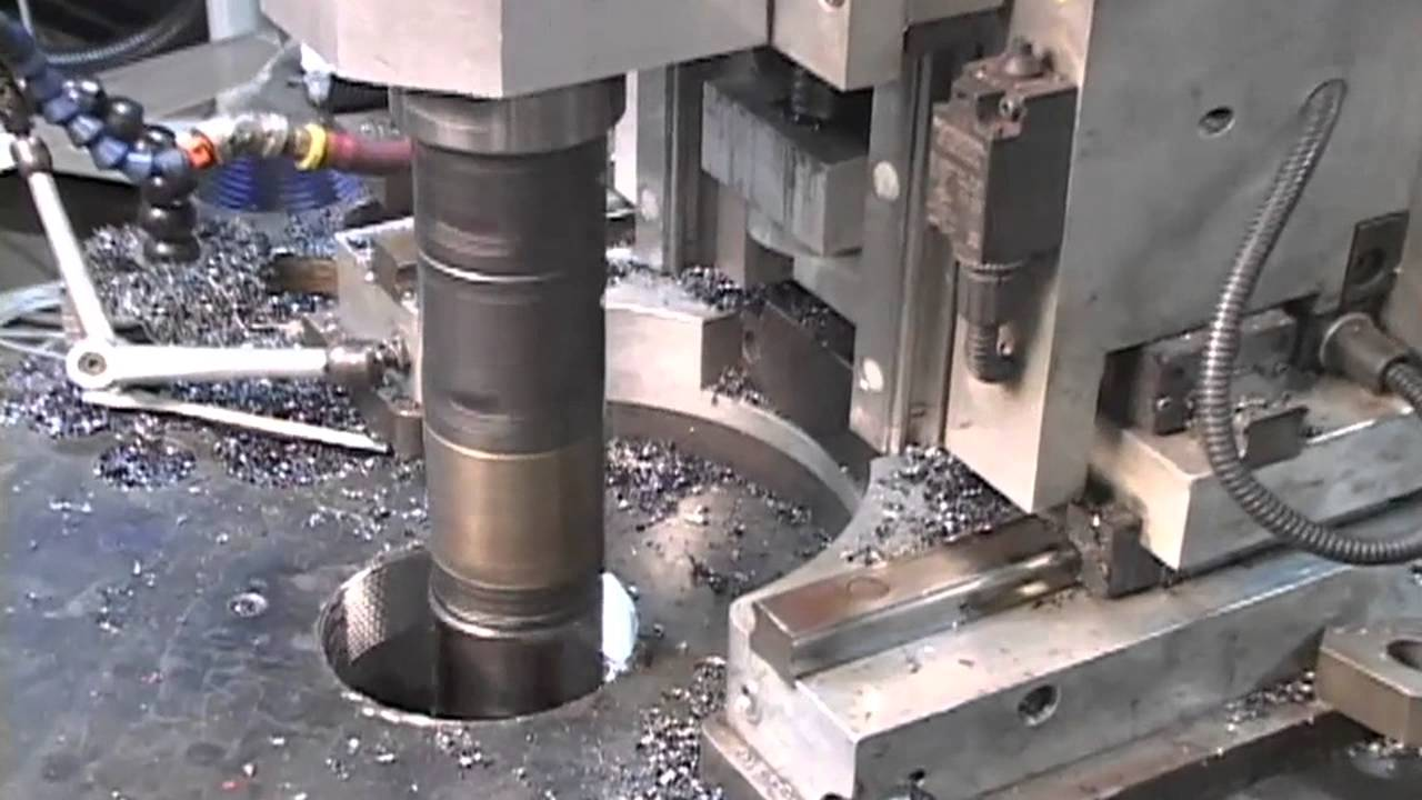 Genisys 220 Threading And Milling Machine Youtube