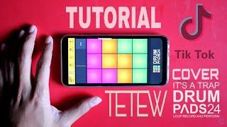 Tutorial TikTok Tetew - Anjing Kacili | Drum Pad 24 Slow Motion