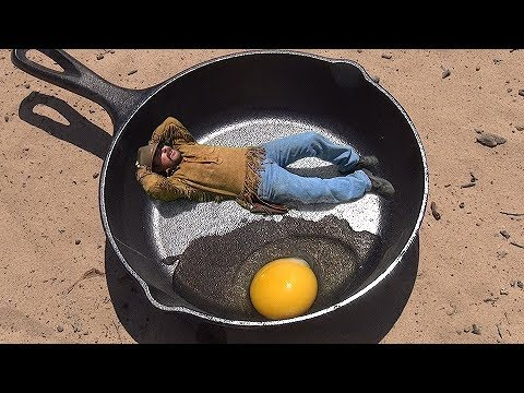 HOW TO COOK AN EGG IN NEVADA !!! Hottest Place on Earth. ask Jeff Williams