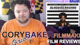 BlackKklansman (Movie Review: Spike Lee, John David Washington, Adam Driver)