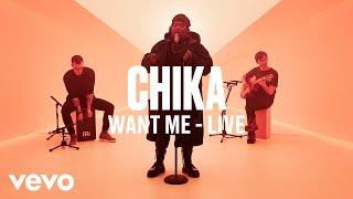 Chika - Want Me (Live) | Vevo DSCVR