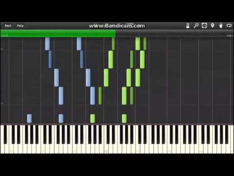 David Foster - Carol of the Bells (piano tutorial)
