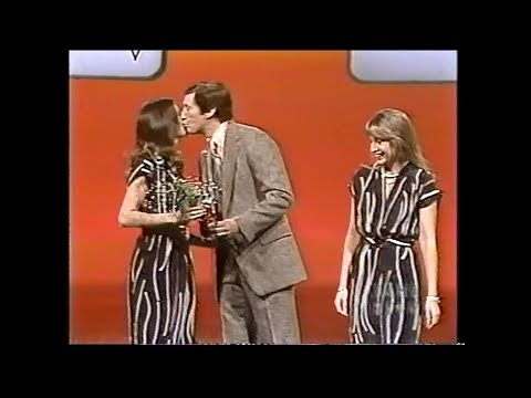 Card Sharks:  February 14, 1980  (Valentine's Day episode)