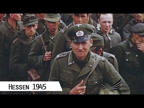 Hessen 1945 (in color and HD)