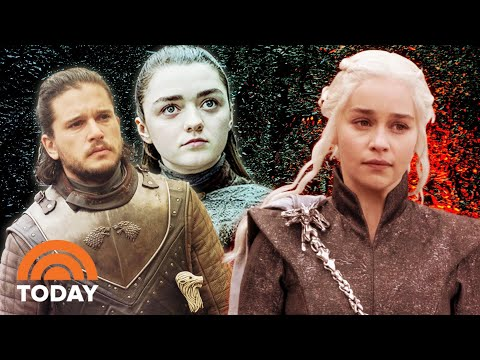 'Game of Thrones' Cast Interviews With Kit Harington, Emilia Clarke, Maisie Williams & More | Today