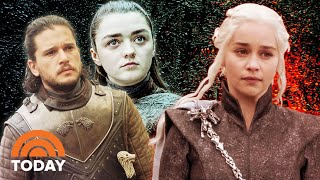 Game Of Thrones Cast  Nterviews With Kit Harington Emilia Clarke Maisie Williams And More  Today