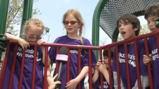 News Report On Freeport Playground Build