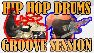 How To Play Hip Hop Grooves: Rob Brown Drums Groove Session