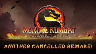Mortal Kombat Kollection Online - ANOTHER Cancelled MK Remake JUST Revealed w/ Screenshots!