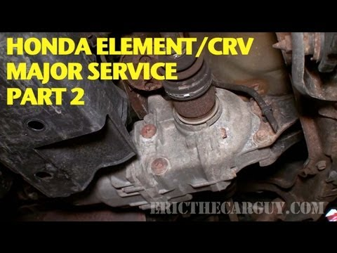 Honda Element/CRV 110K Service (Part 2) -EricTheCarGuy