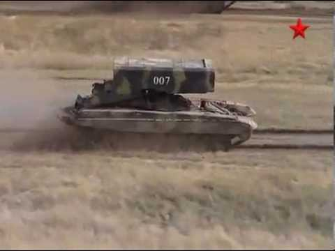 """Heavy flamethrower system TOS-1A """"Pinocchio"""" - YouTube"""