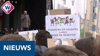 Malieveld Den Haag het toneel van de landelijke onderwijsstaking - OMROEP WEST