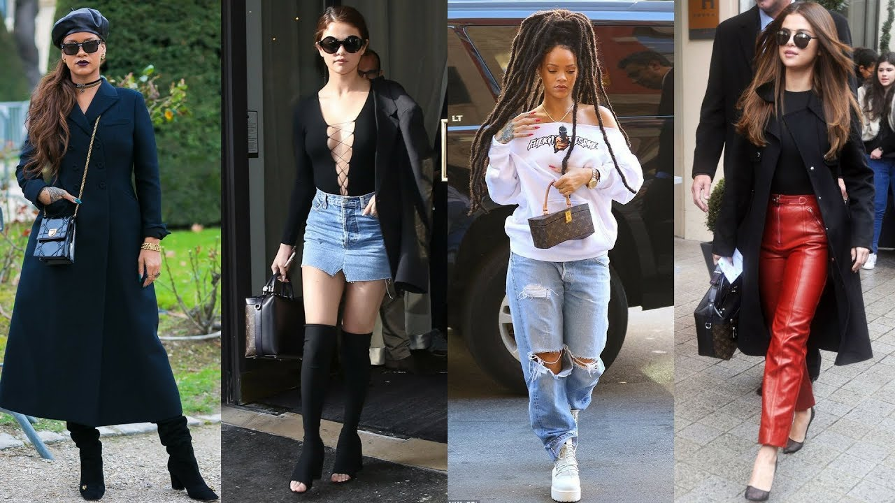 Rihanna vs Selena Gomez - Who Is The Most Fashionable