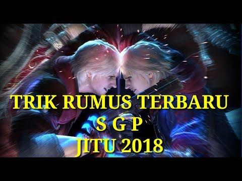 RUMUS TERBARU TOGEL SGP 2018