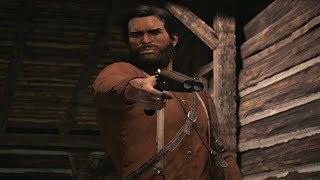 Red Dead Redemption 2 - John Marston Reveals His Gun Skills