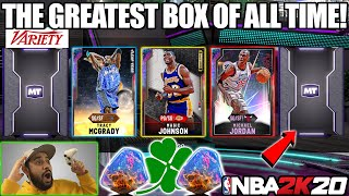 2K RELEASED EVERY PROMO PACK AND I PULLED MY BEST BOX EVER IN NBA 2K20 MYTEAM PACK OPENING
