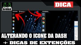 Fedora 28 Gnome - alterando  o icone do lancher da dash