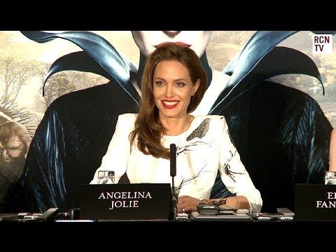 Maleficent Angelina Jolie Interview