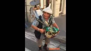 "funny italians-CLASSIC ITALIAN NONNO ""one man band"" (funny italians)"