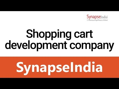 Shopping Cart Development Company - SynapseIndia