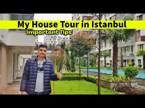 My House Tour in Istanbul | Apartment Rent & Cost in Turkey