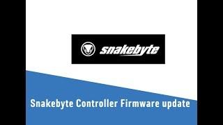 Snakebyte Controller Firmware update