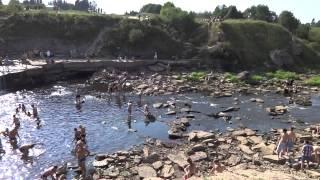 Саблино. Водопад на реке Тосно - 2