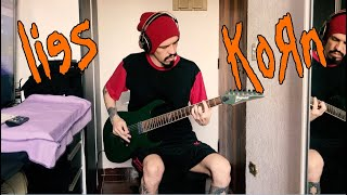 Korn - Lies - GUITAR COVER (2020) - AMAZING DISTORTION