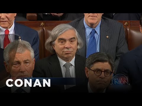 Energy Secretary Ernest Moniz Visits Conan  - CONAN on TBS