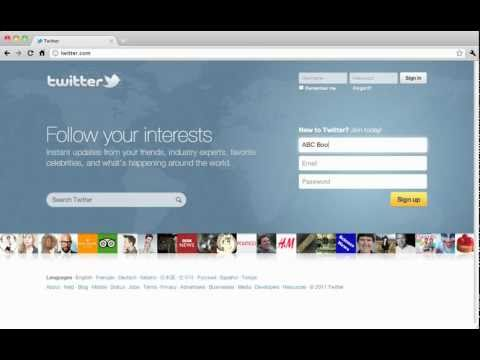 How to Create a Twitter Account for Your Business