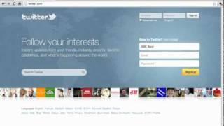 İşiniz için bir Twitter Hesabı Oluşturmak için nasıl