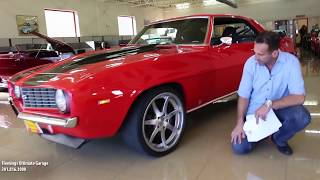 69 CAMARO LS2 PRO-TOUR for sale with test drive, driving sounds, and walk through video