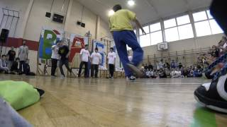 Freestyle Cypher Breakdance | Kulturni Dan KDK 2014 Organized by Bast