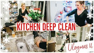 CLEAN WITH ME 2018 ✨💪🏼 | EXTREME CLEANING MOTIVATION KITCHEN DEEP CLEAN