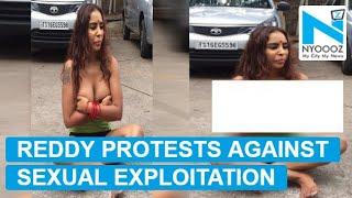 Telugu Actress Sri Reddy Strips In Public   NYO...