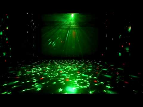 Audio Control LED Laser & Magic Ball Stage Light