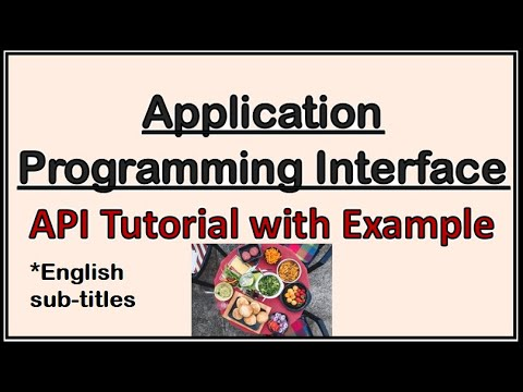 What is an API? Application Programming Interface