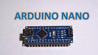 Arduino Nano 1st Time Use