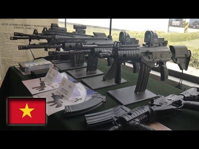 Súng chiến đấu Galil ACE và đạn Việt Nam đã tự sản xuất 100%