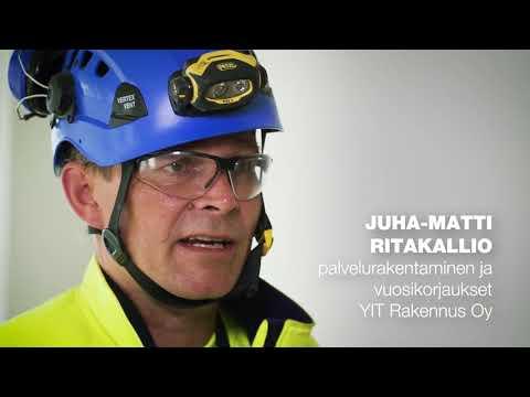 Laatuteko 2017: Juha-Matti Ritakallio, vuositakuukorjaaja, YIT