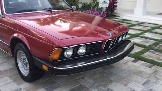 1979 BMW 633CSi E24 Coupe Review and Test Drive by Bill - Auto Europa Naples