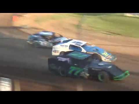 USRA B-Mod Heat 3 Upper Iowa Speedway 8/3/19