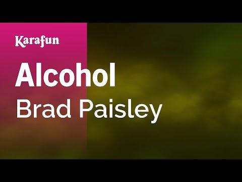 Karaoke Alcohol - Brad Paisley *