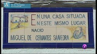 Día de Cervantes. Ancha es Castilla-La Mancha.23.04.15