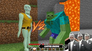 Who is STRONGER - Handsome Squidward or Mutant - Coffin Meme Minecraft