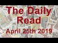 The Daily Read - Emerging from the shadows; Time to thrive - April 25th 2019 - Tarot Reading