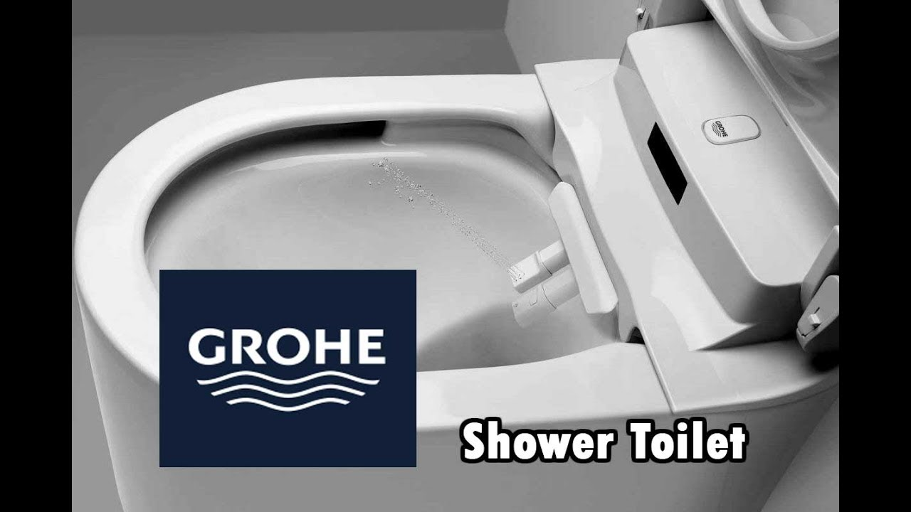 Grohe Sensia Shower Toilet - Auto Wash - YouTube