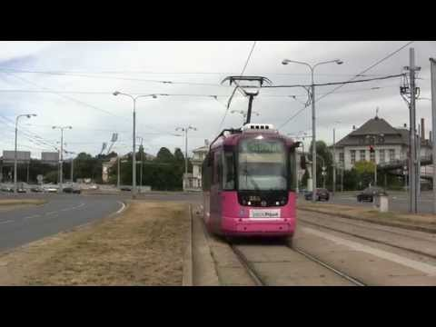 Trams in Pilsen, Bohemia, Czech Republic - 11th July, 2015