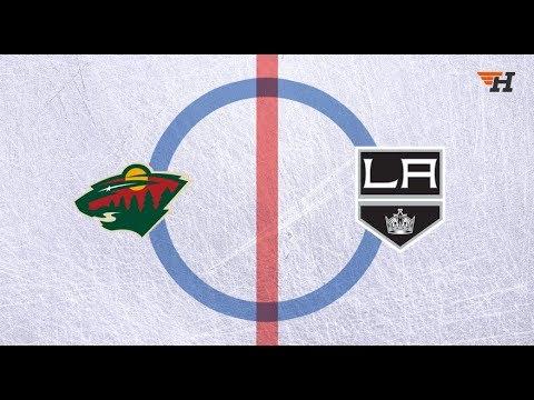 Minnesota Wild vs Los Angeles Kings  первая игра серии